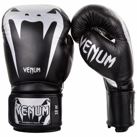 Venum Giant 3.0 Bokshandschoenen - nappaleer - zwart/zilver