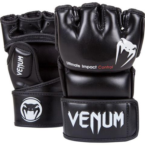 Guanti MMA Venum Impact - Pelle Skintex - Neri