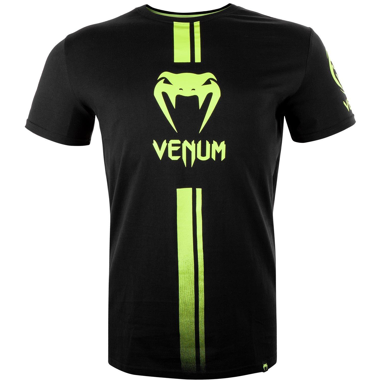 Venum Logos T-shirt - Black/Neo Yellow