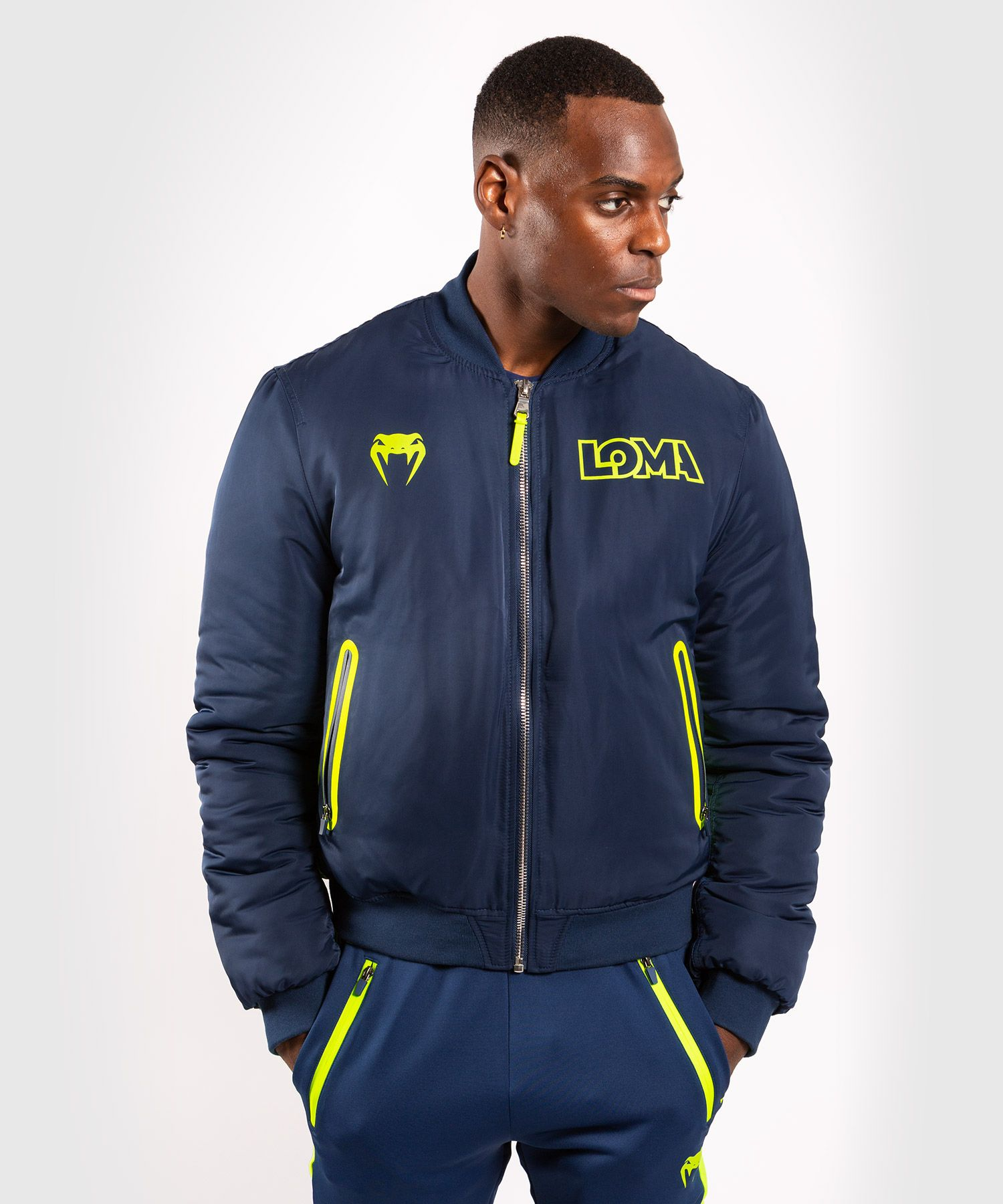 Venum Origins Bomber Loma Edition - Blue/Yellow