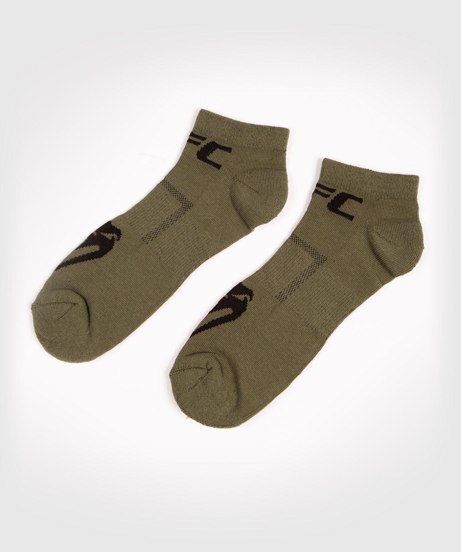 UFC Venum Authentic Fight Week Unisex Performance Socken 2er-Set - Khaki