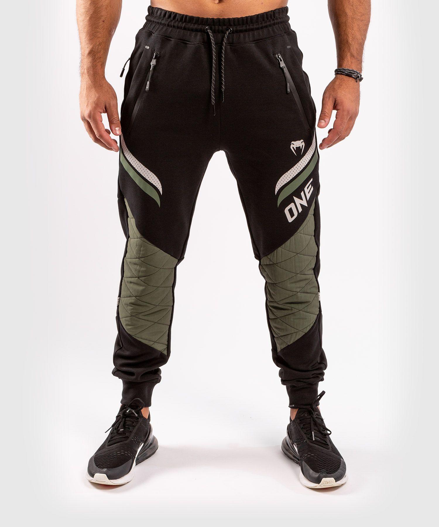 Pantaloni da jogging ONE FC Impact - Nero/Cachi