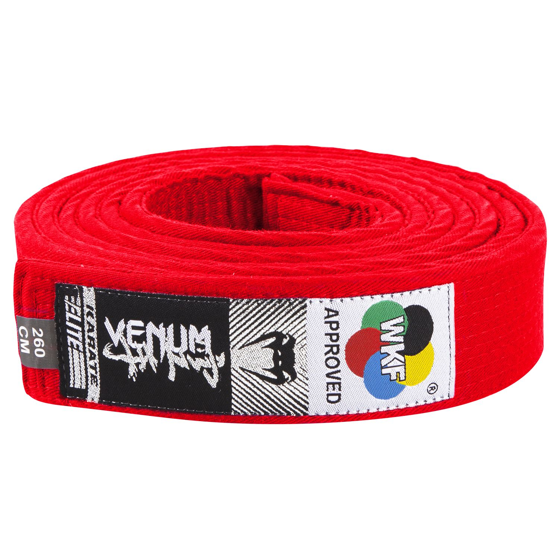 Venum Karate Belt - Red