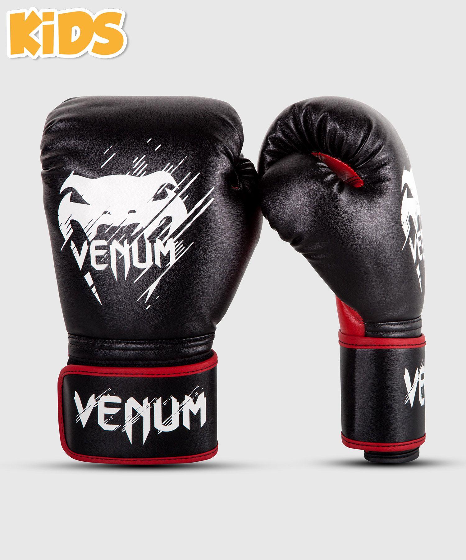 Venum Contender Kids Boxhandschuhe - Schwarz/Rot
