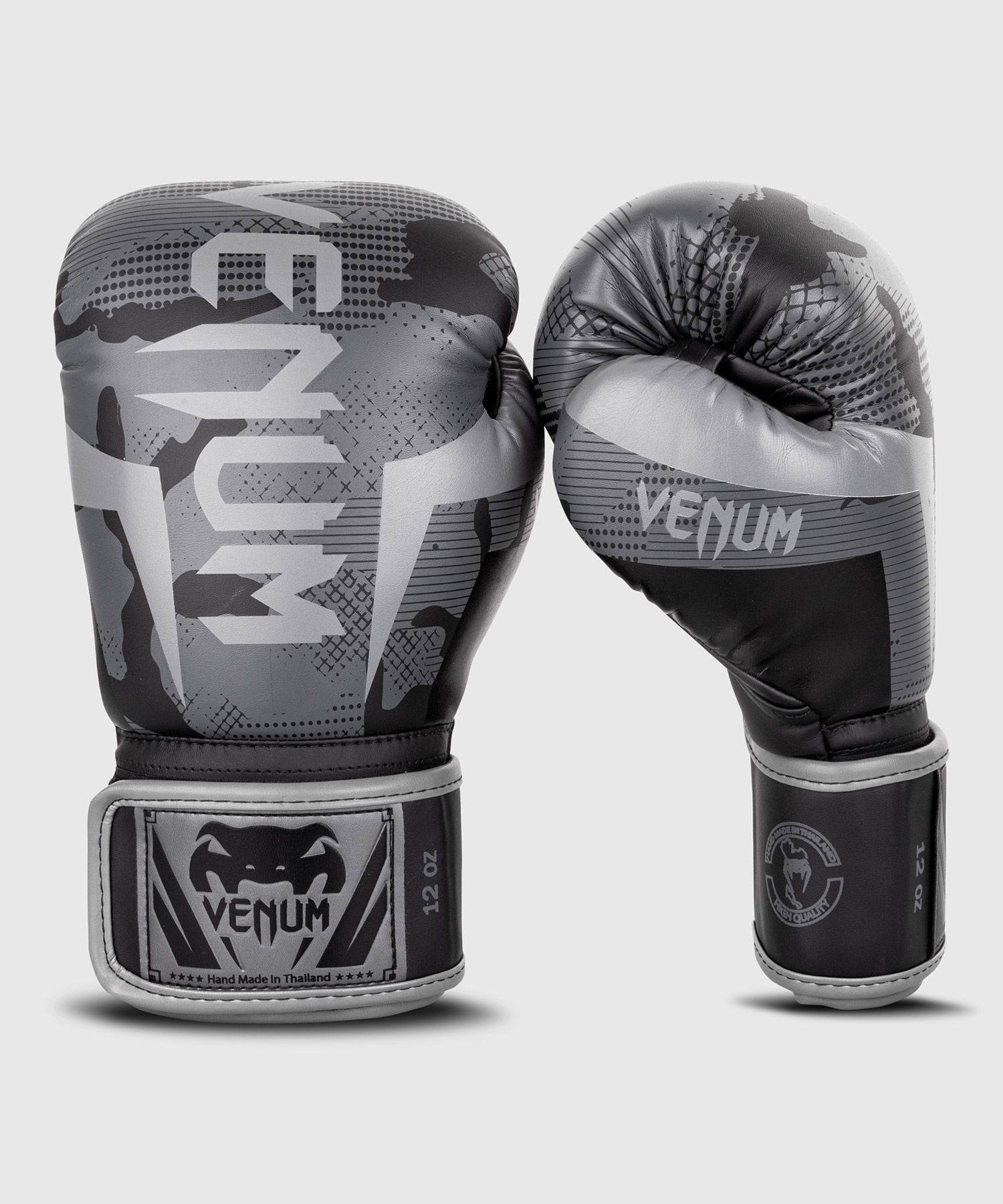 Guantoni da boxe Venum Elite - Nero/Camo scuro