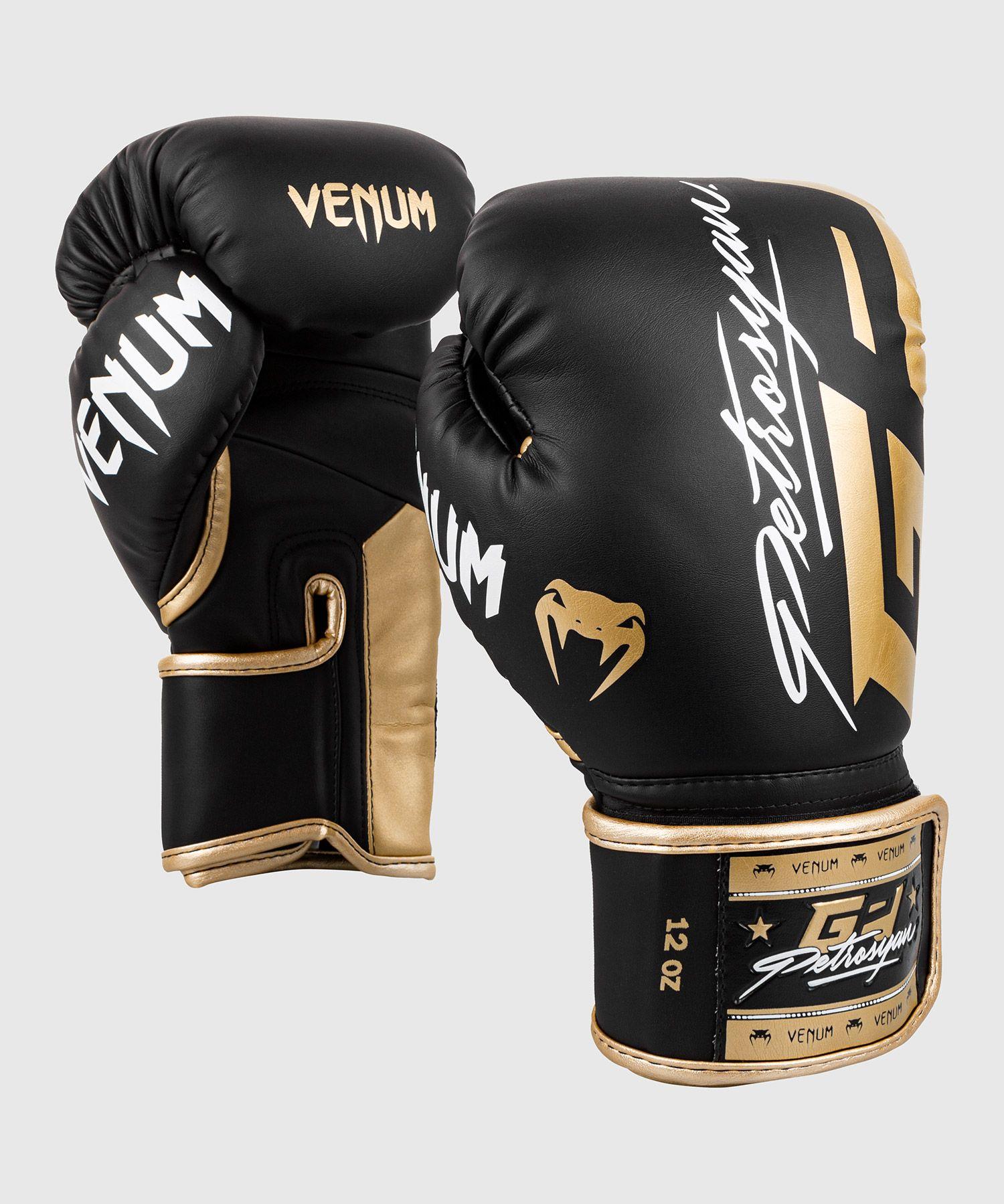 Guantes de boxeo Venum Petrosyan - Negro/Oro