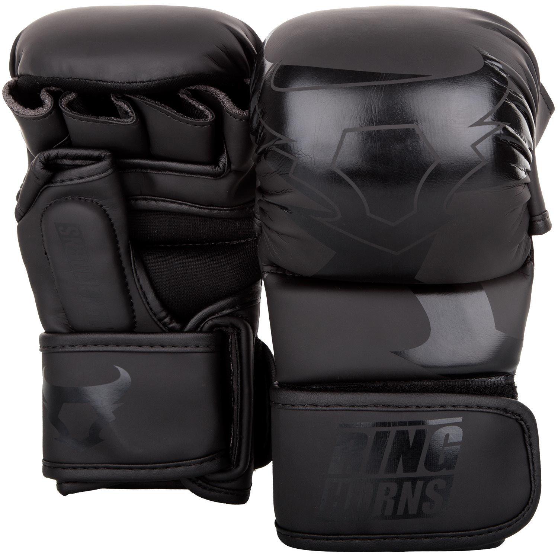 Ringhorns Charger Sparring Gloves - Black/Black
