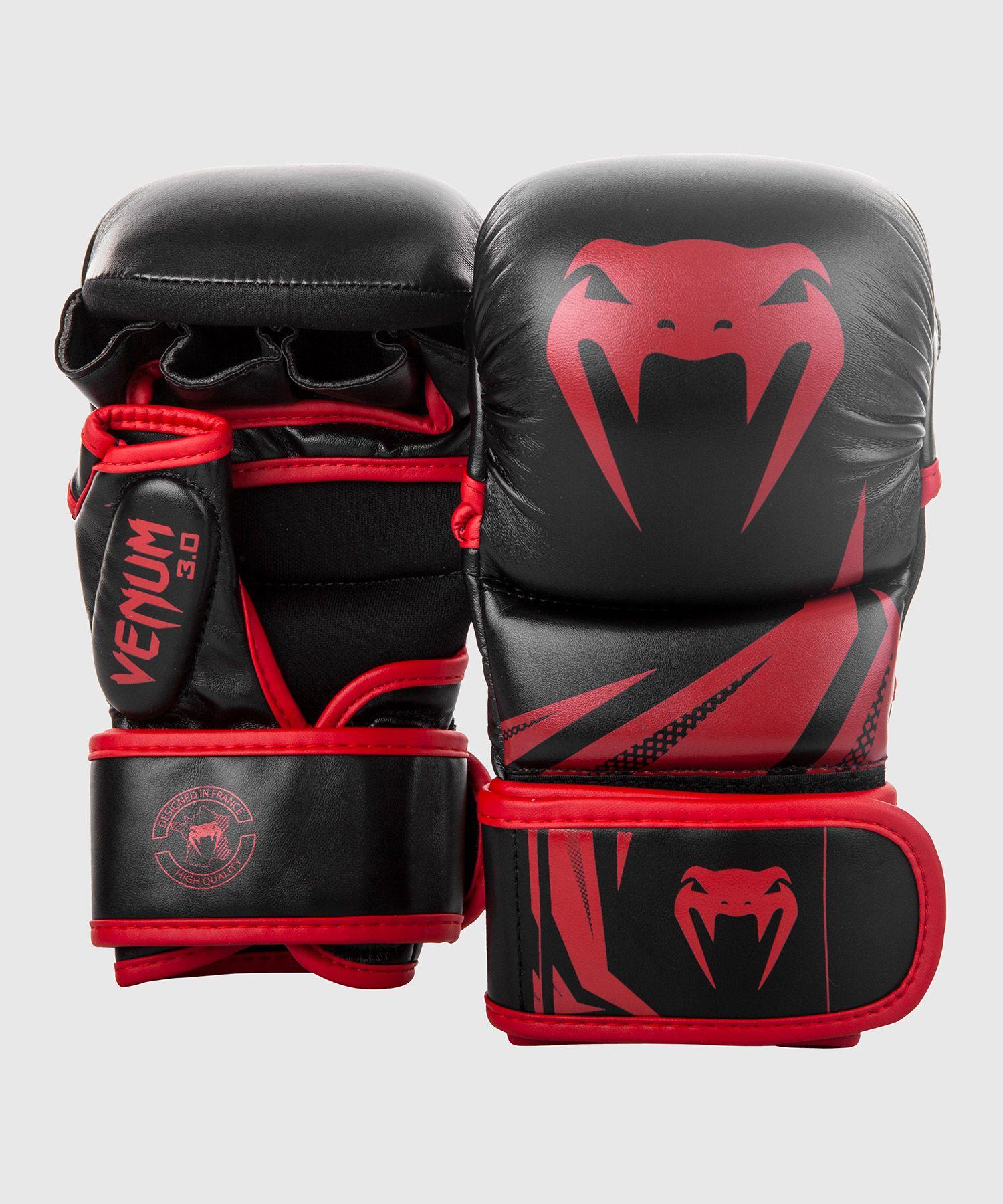 Venum Challenger 3.0 Trainingshandschoenen - Zwart/Rood