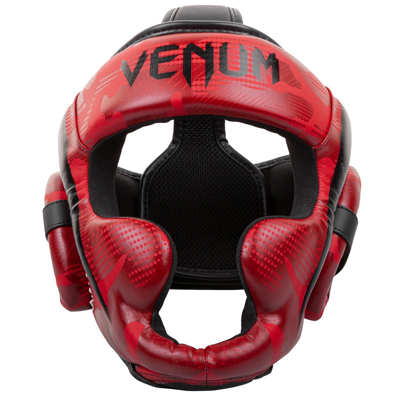 Venum Elite Boxing Headgear - Red Camo