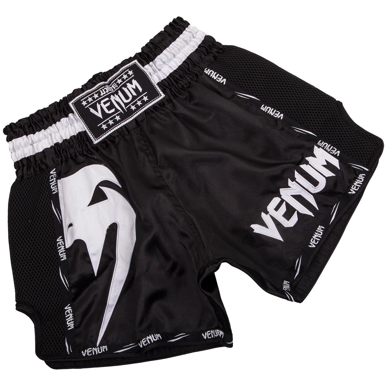 Venum Giant Muay Thai Short - Zwart/Wit