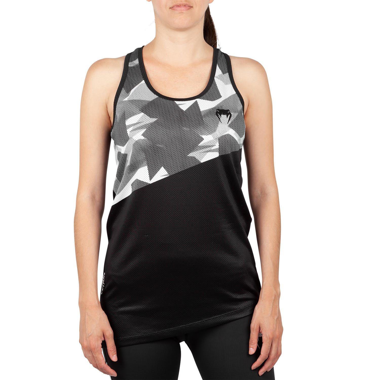 Camiseta sin mangas Venum Dune 2.0 - Negro/Blanco