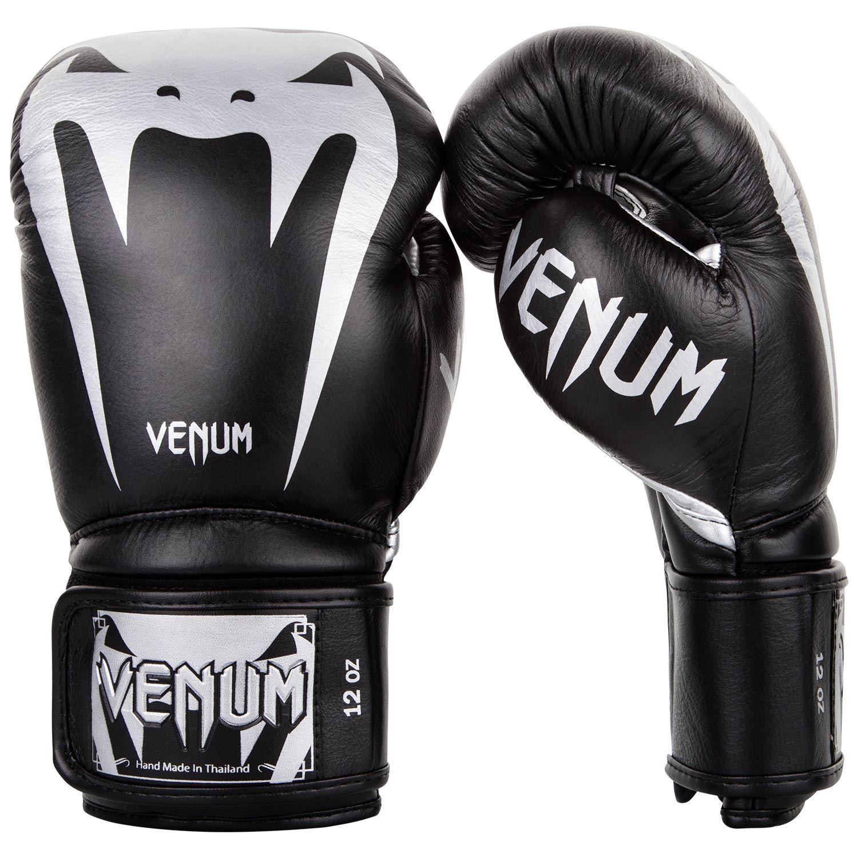 Guantes de Boxeo Venum Giant 3.0 - Cuero Nappa - Negro/Plata
