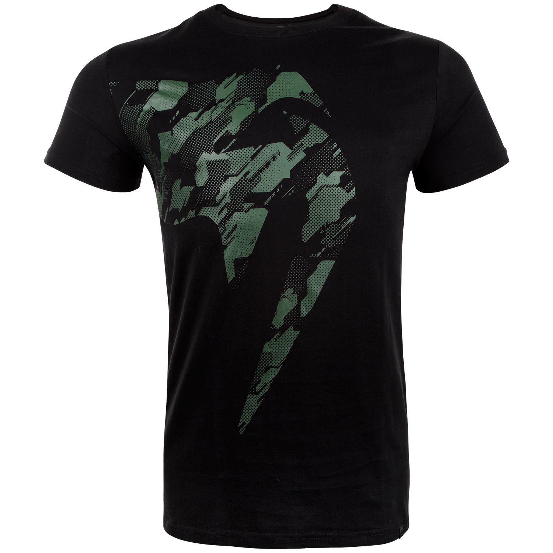 T-shirt Venum Tecmo Giant - Nera/Cachi