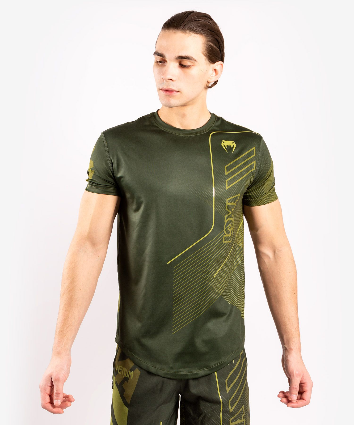 Dry Tech Venum Loma Commando T-Shirt - Khaki
