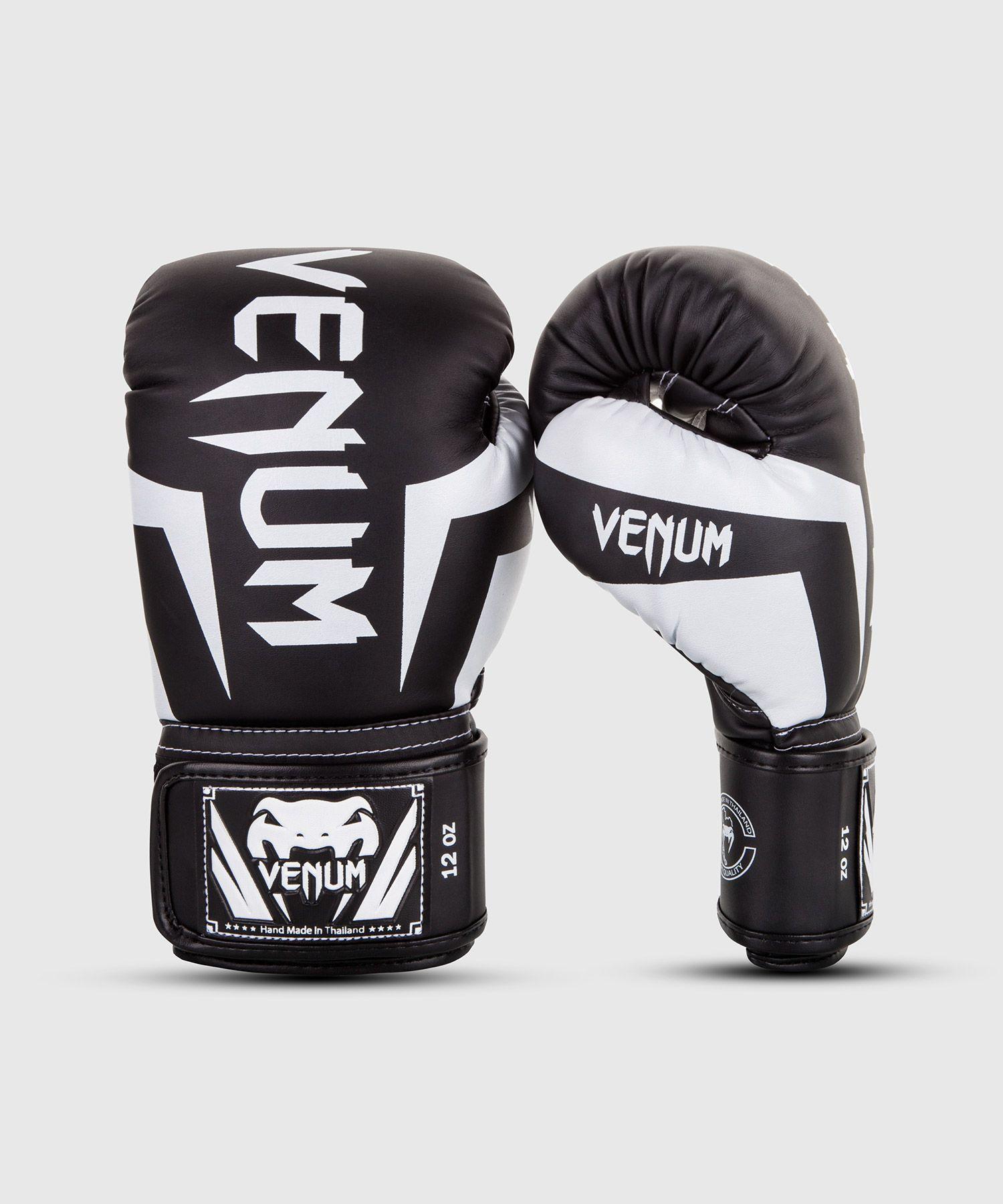 Venum Elite Boxhandschuhe - Schwarz/Weiß