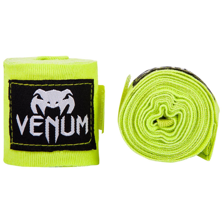 Fasce da boxe Venum Kontact - 2,5 m - Giallo neo