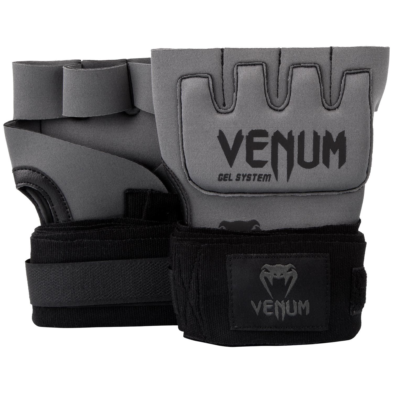Venum Kontact Gel Glove Wraps - Grey/Black