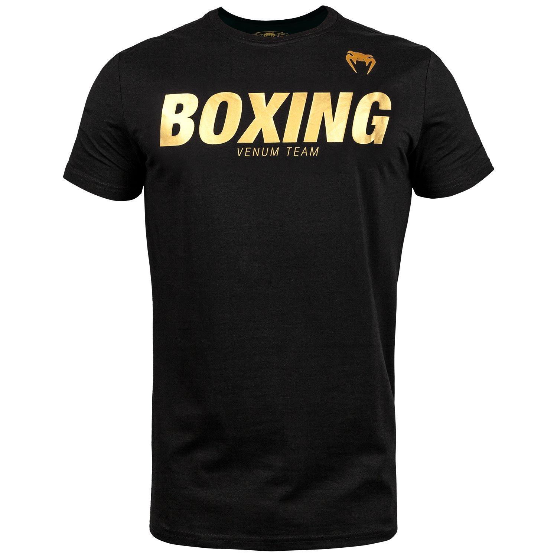 Venum Boxing VT T-shirt - Black/Gold