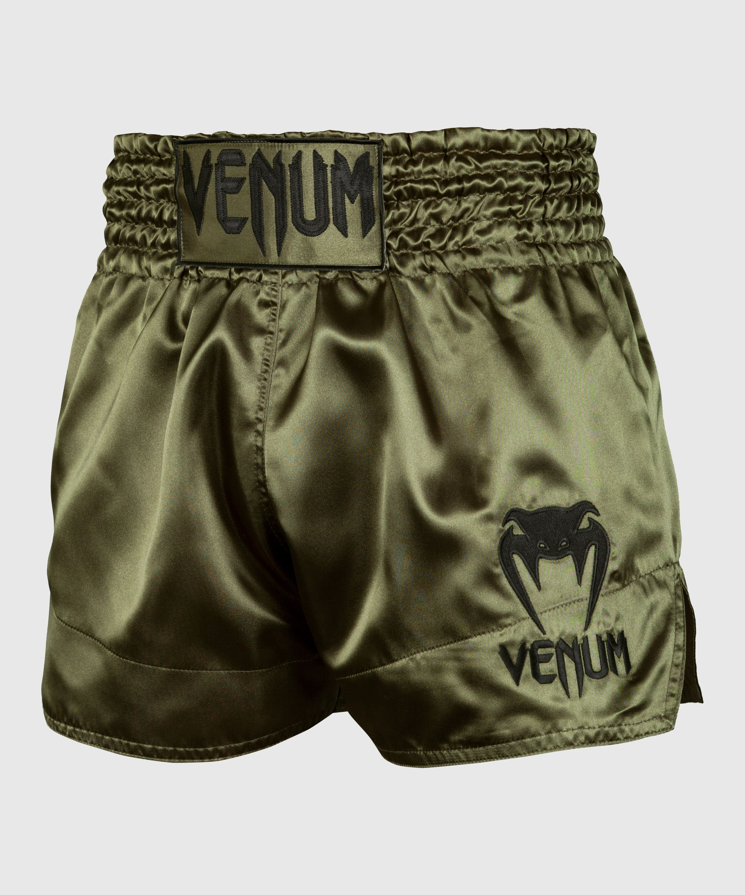 Venum Muay Thai Shorts Classic - Kaki/Zwart