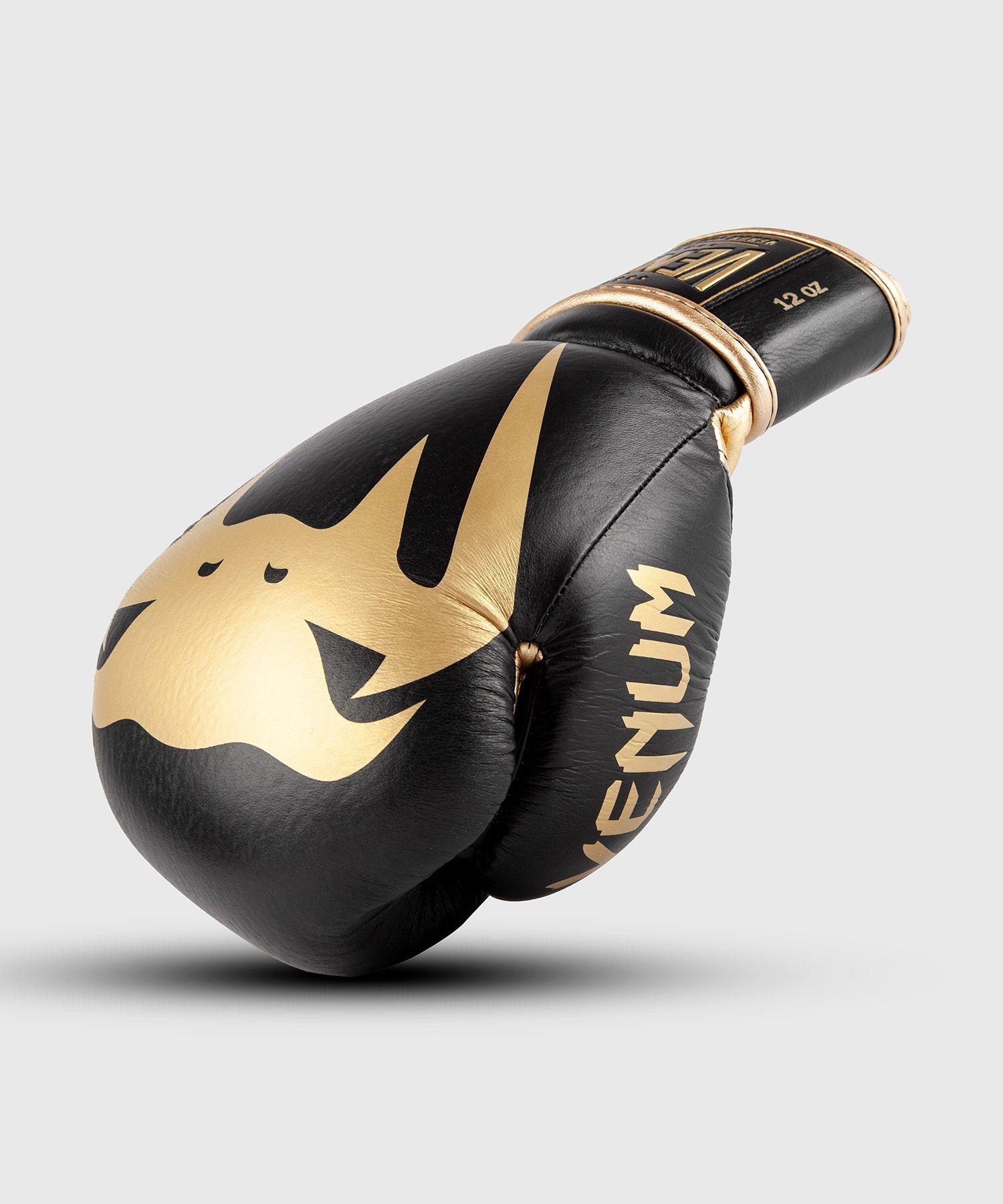 Gants de Boxe Pro Venum Giant 2.0 - Velcro - Noir/Or
