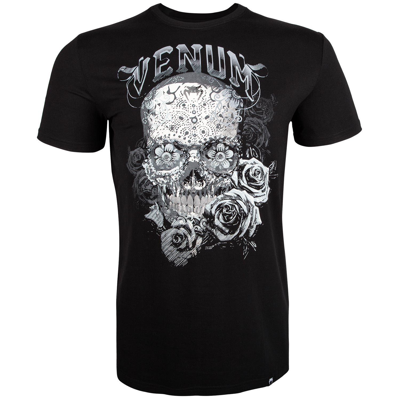 Venum Santa Muerte 3.0 T-Shirt - Schwarz/Weiß