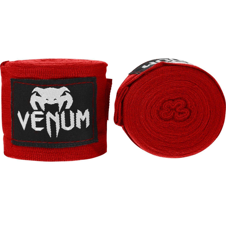 Bandages de Boxe Venum Kontact - Original - 4 mètres (4 coloris) - Rouge