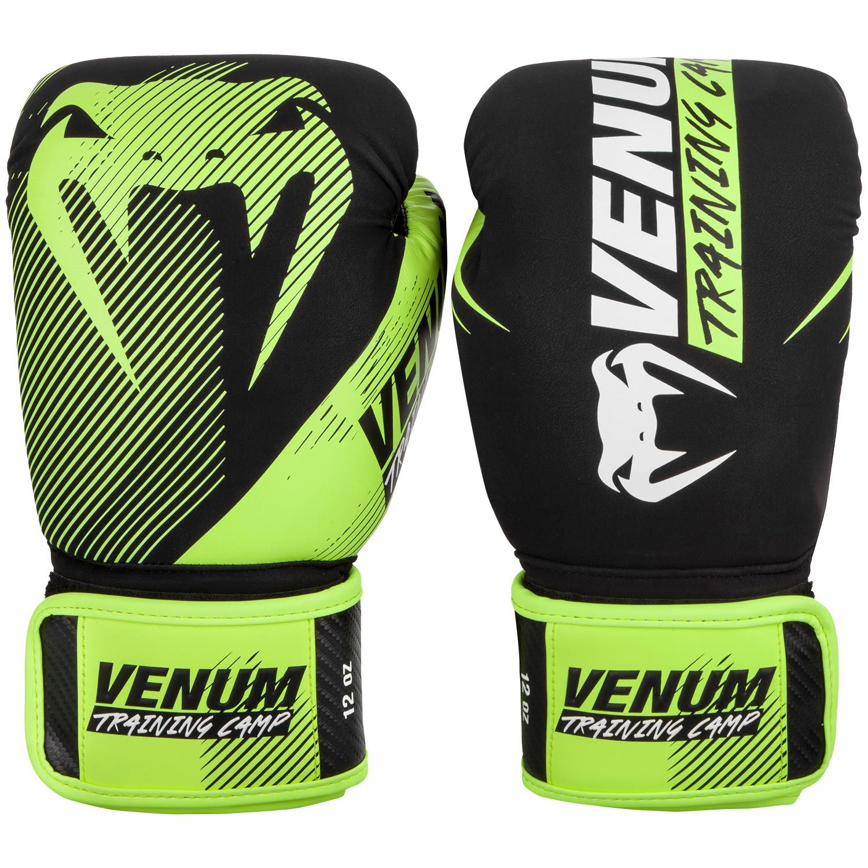 Guantes de Boxeo Venum Training Camp 2.0 - Negro/Neo Amarillo