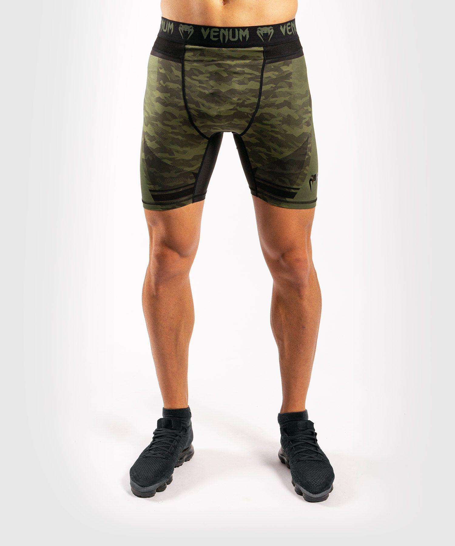 Short de compression Venum Trooper - Forest Camo/Noir