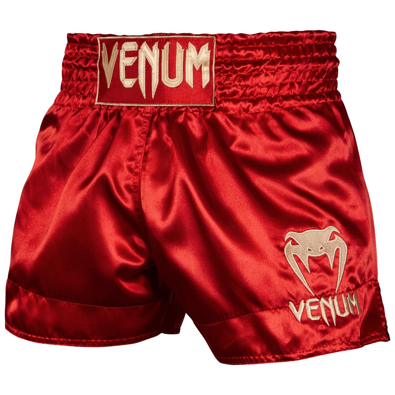 Short de Muay Thai Venum Classic - Bordeaux/Or