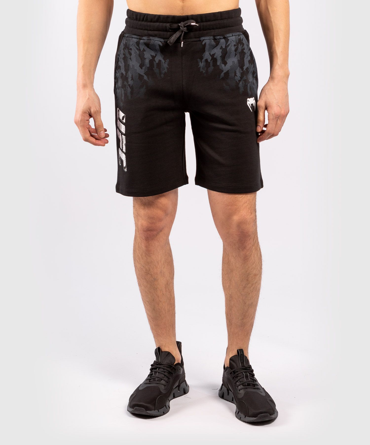 Short de Sport en Coton Homme UFC Venum Authentic Fight Week - Noir