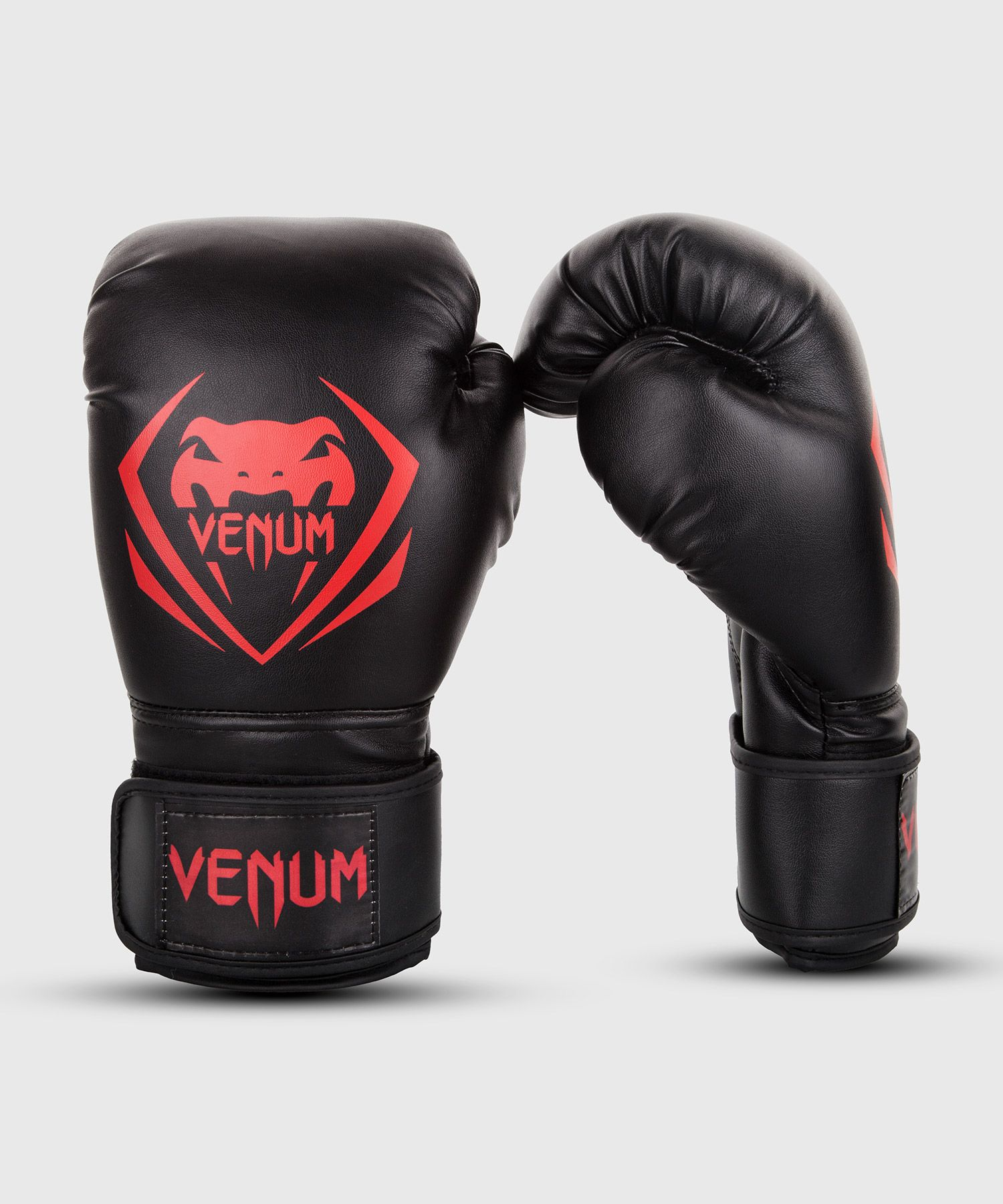 Venum Contender Boxing Gloves - Black/Red