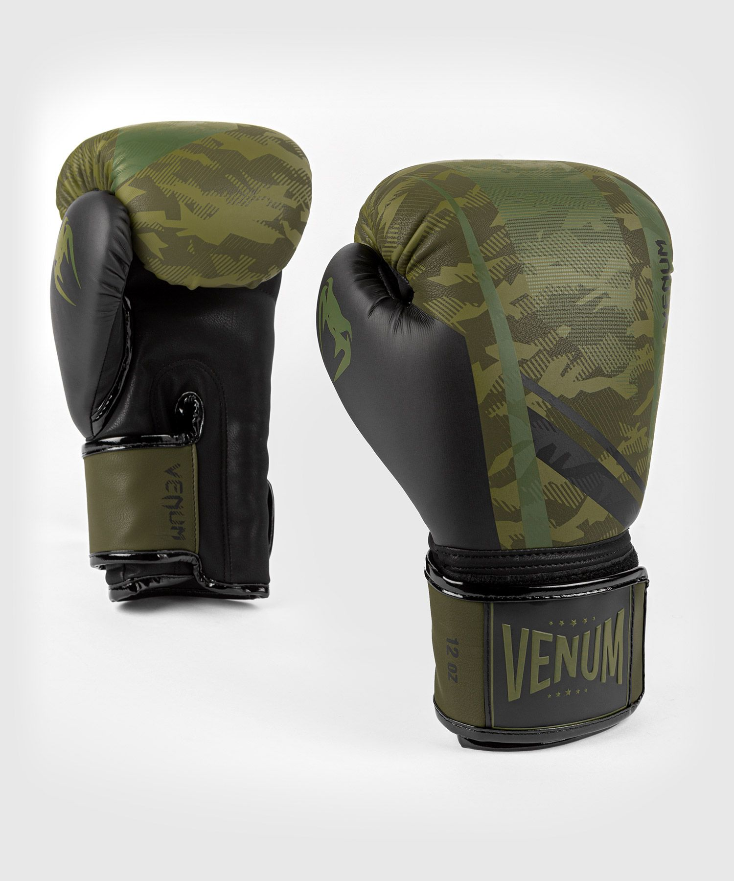 Venum Trooper Boxhandschuhe - Camo Wald/Schwarz