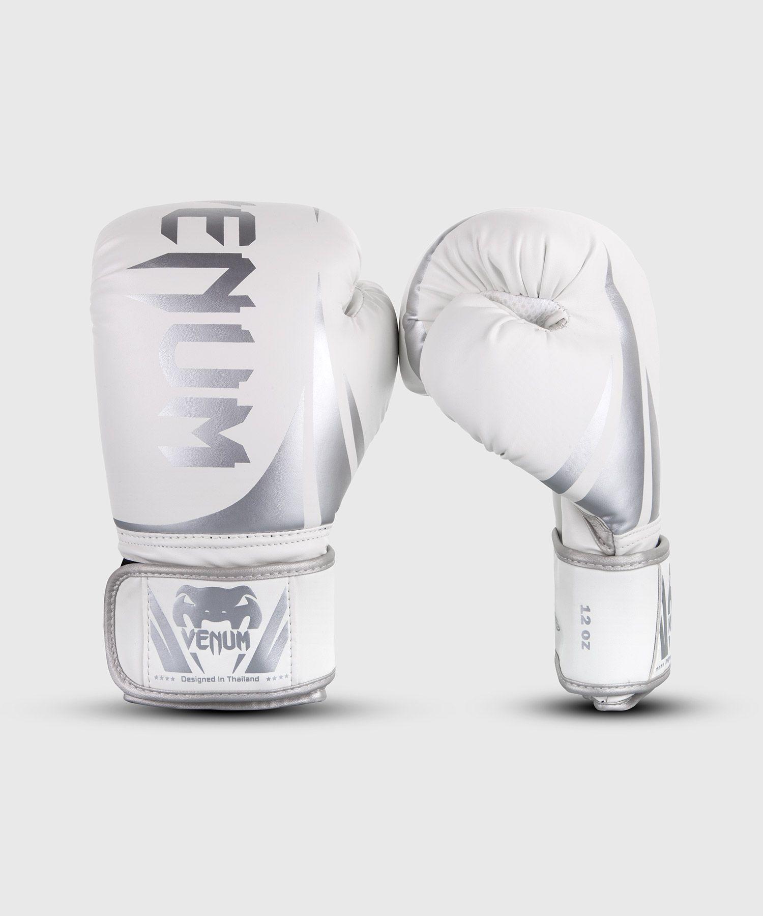 Venum Challenger 2.0 Boxing Gloves - White/Silver