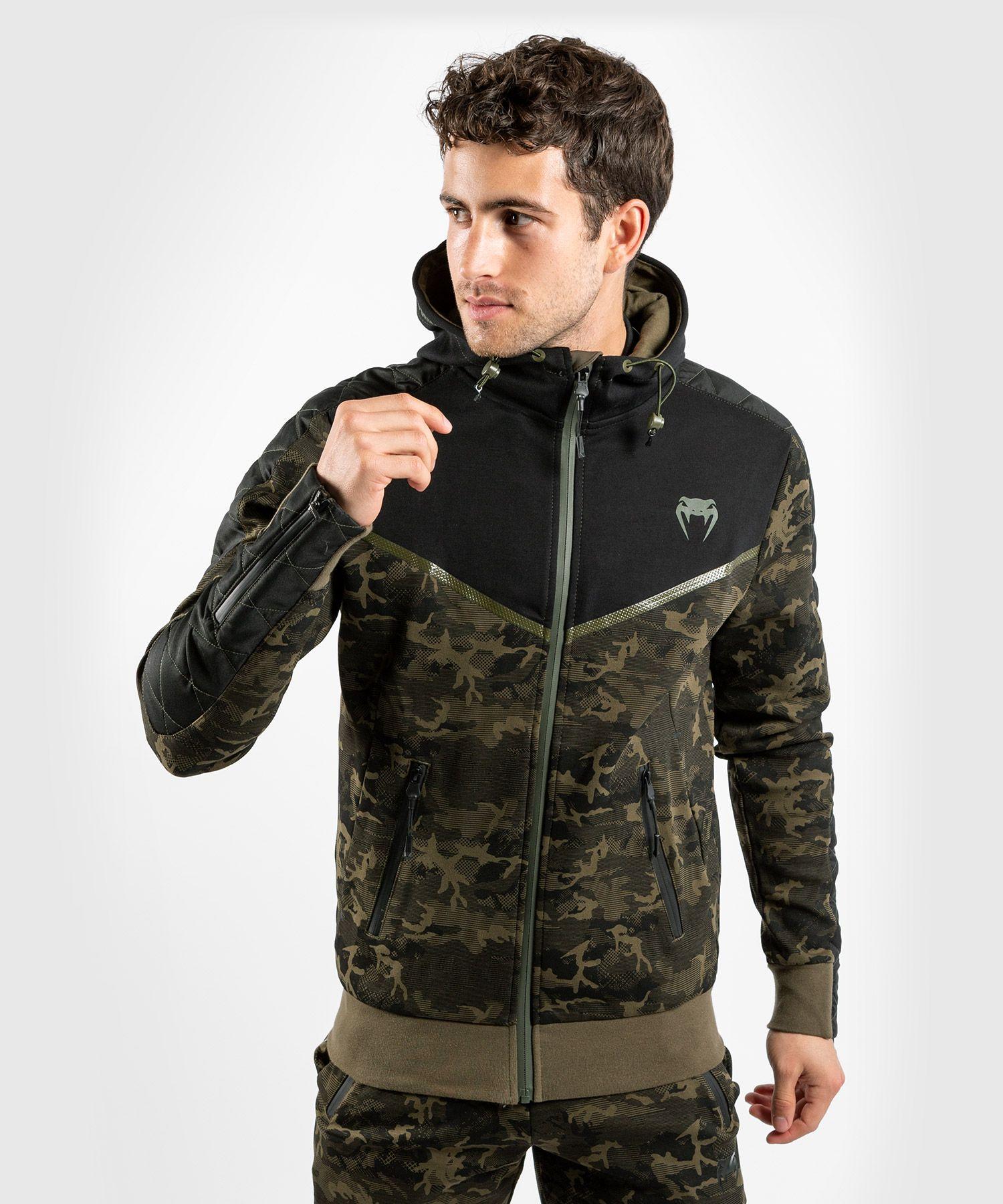 Sweatshirt Venum Laser EVO - Khaki Camo