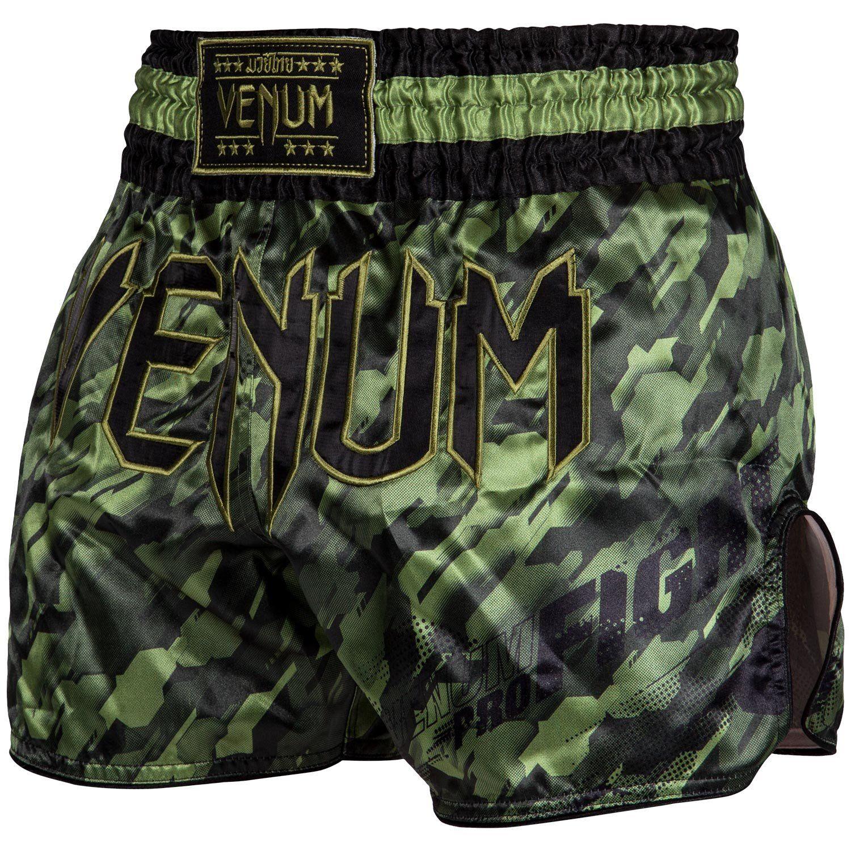Venum Tecmo Muay Thai Short - kaki