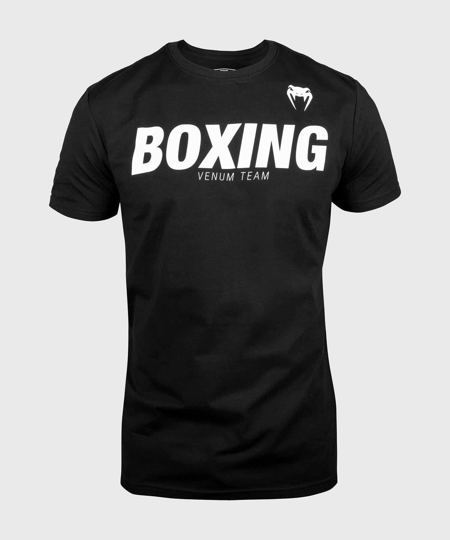 Venum Boxing VT T-shirt - Zwart/Wit