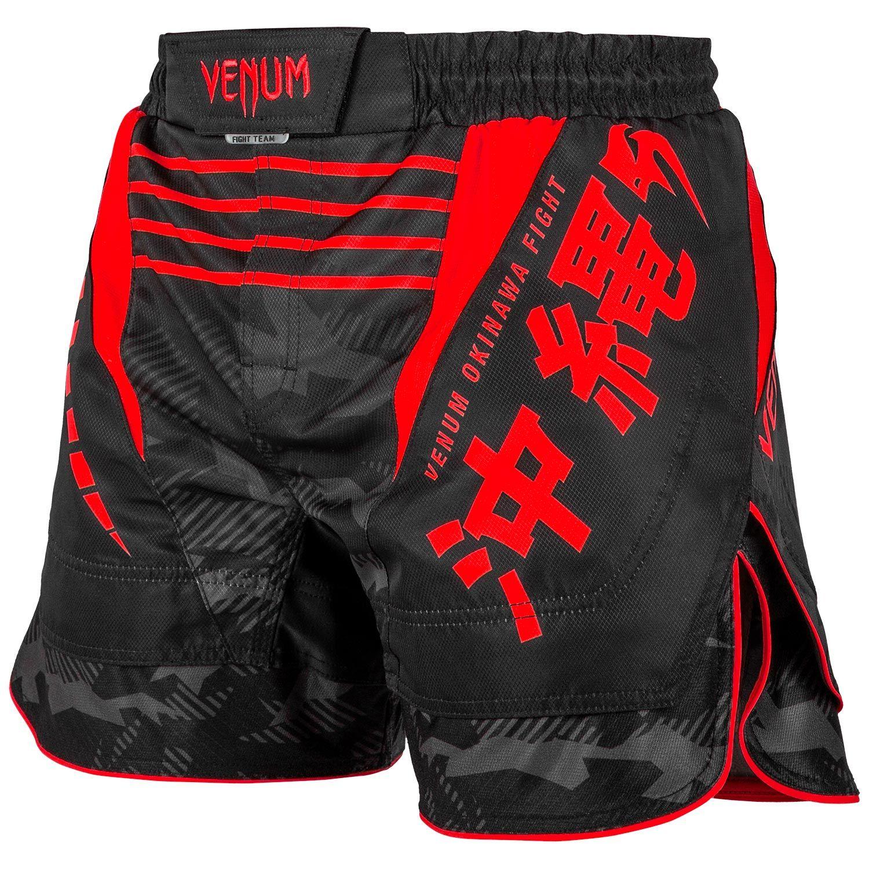 Pantalones Mma Venum Okinawa 2 0 Negro Rojo Venum Com Espana