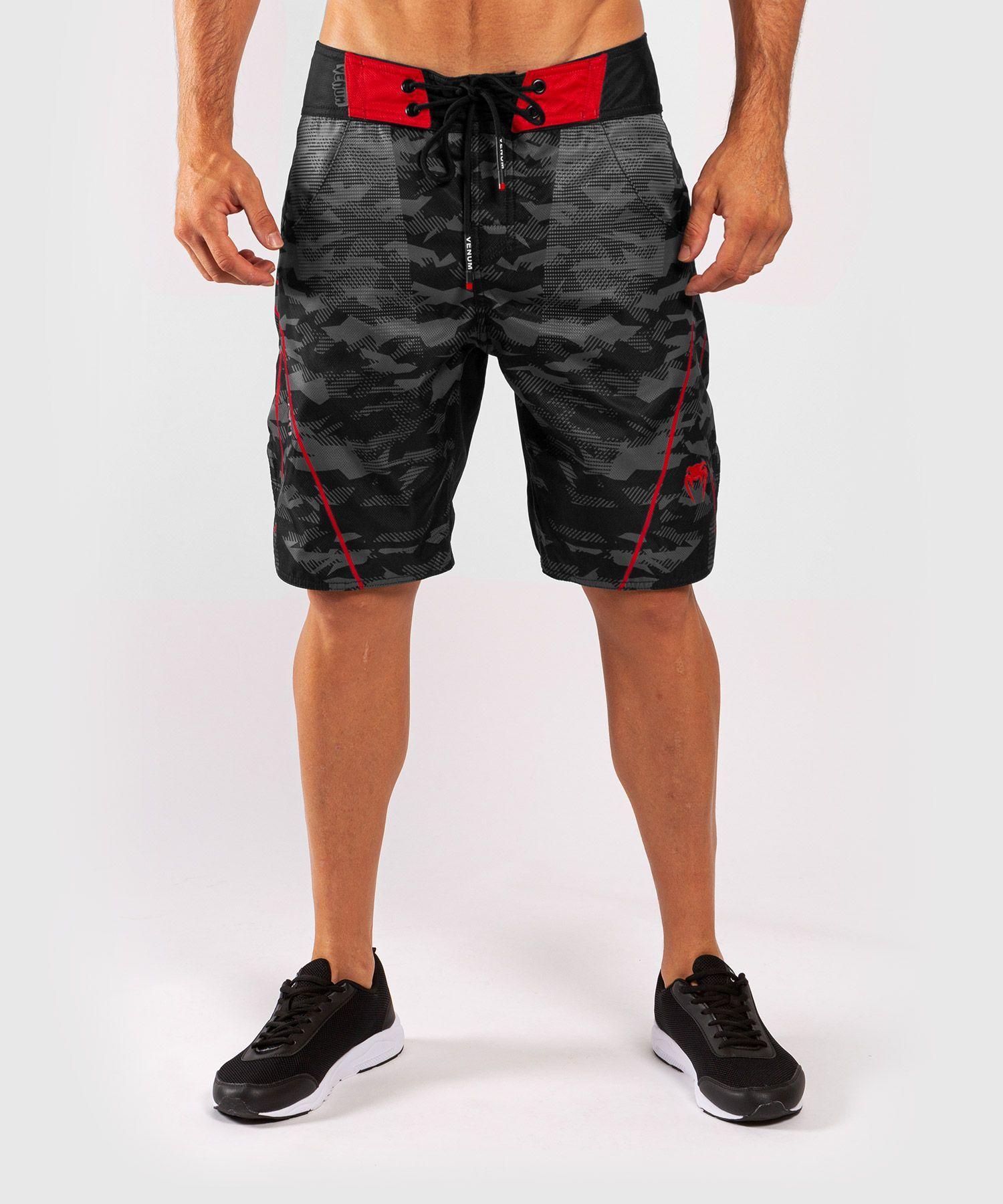 Venum Trooper zwemshort - Zwart/Rood