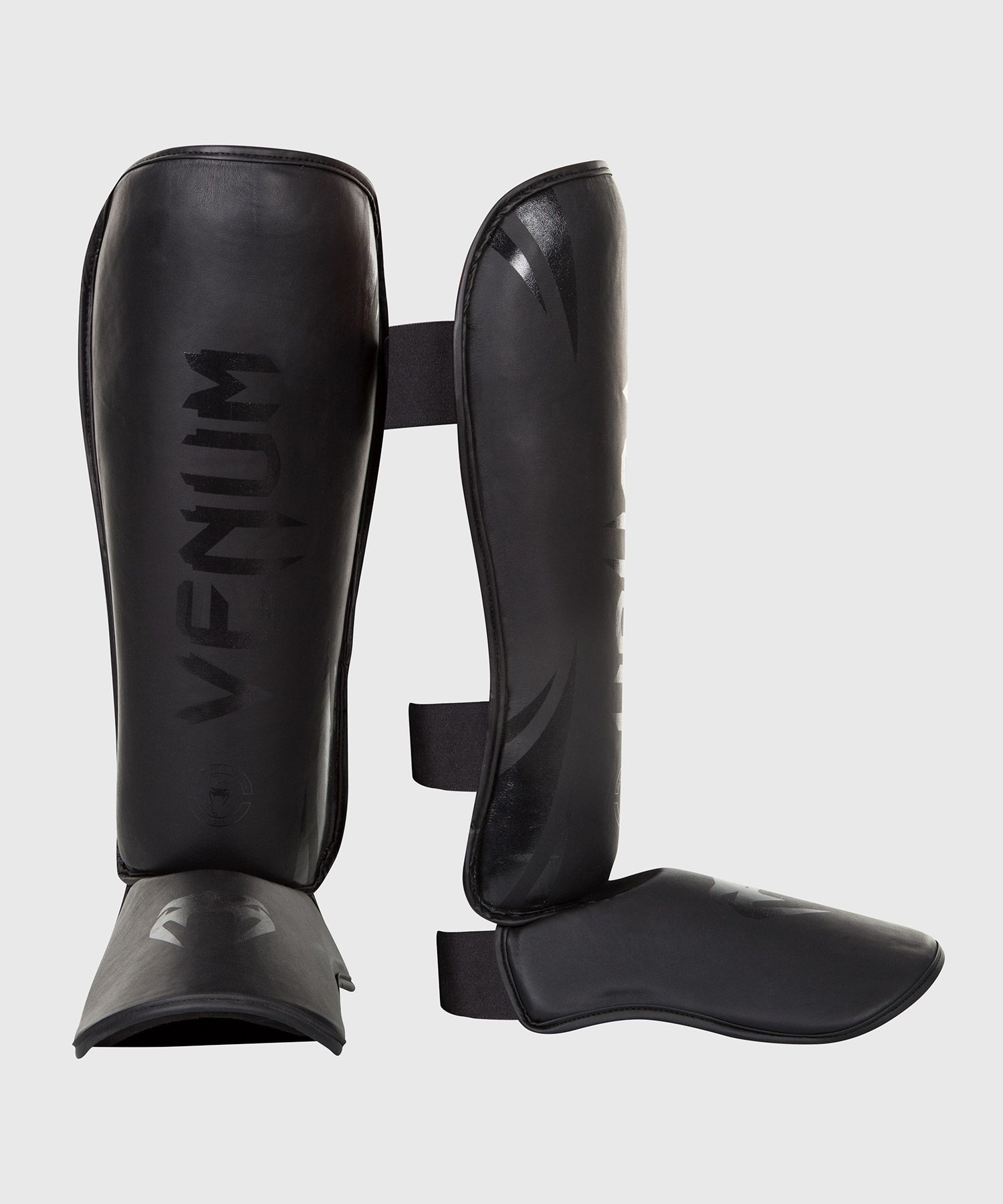 Venum Challenger Standup Shin Guards - Matte/Black