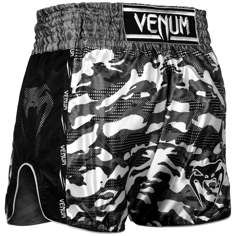 Venum Full Cam Muay Thai Shorts Urban Camo Black Venum Com Europe