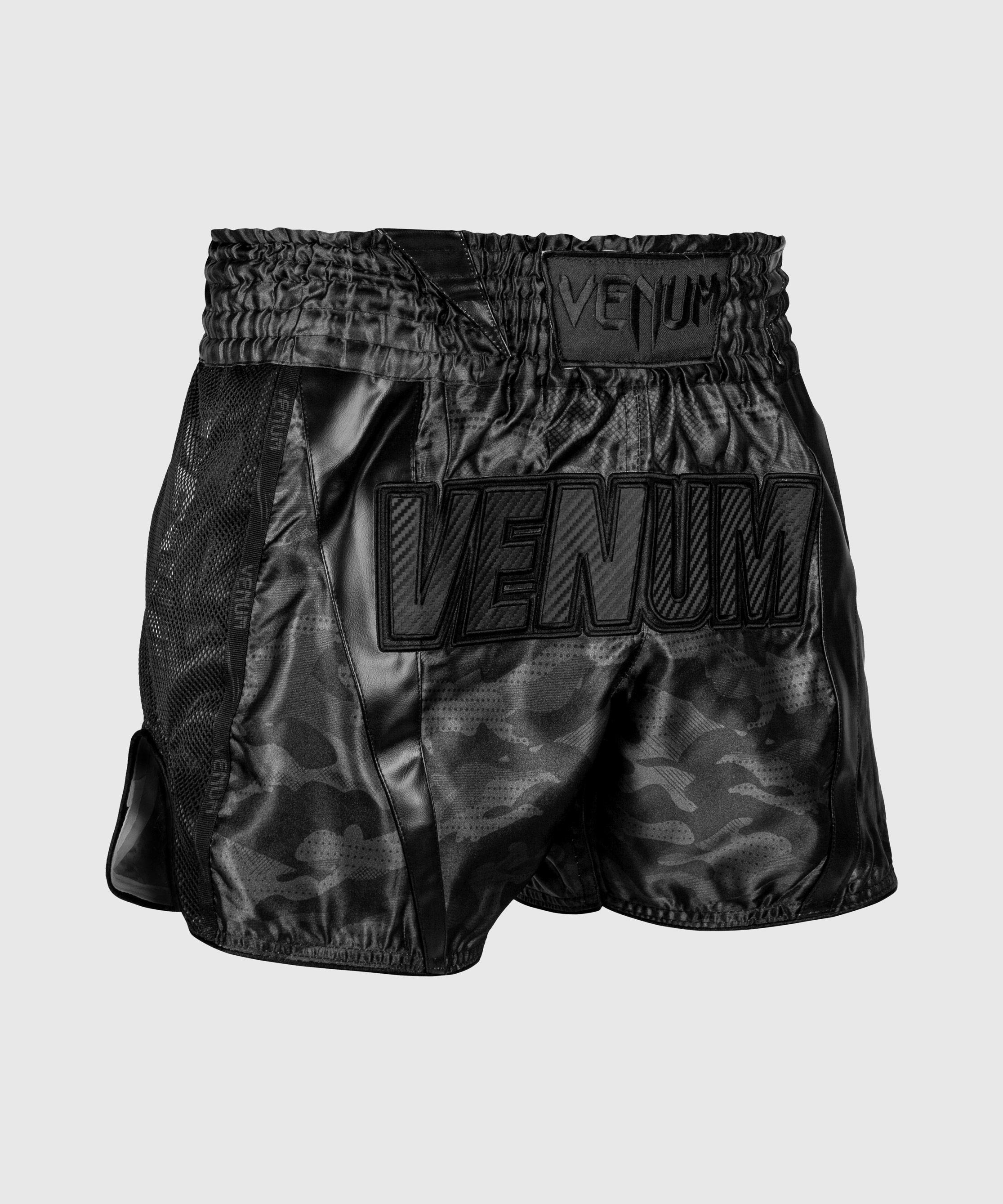 Pantalones cortos de Muay Thai Venum Full Cam - Camo Urbano/Negro/Negro