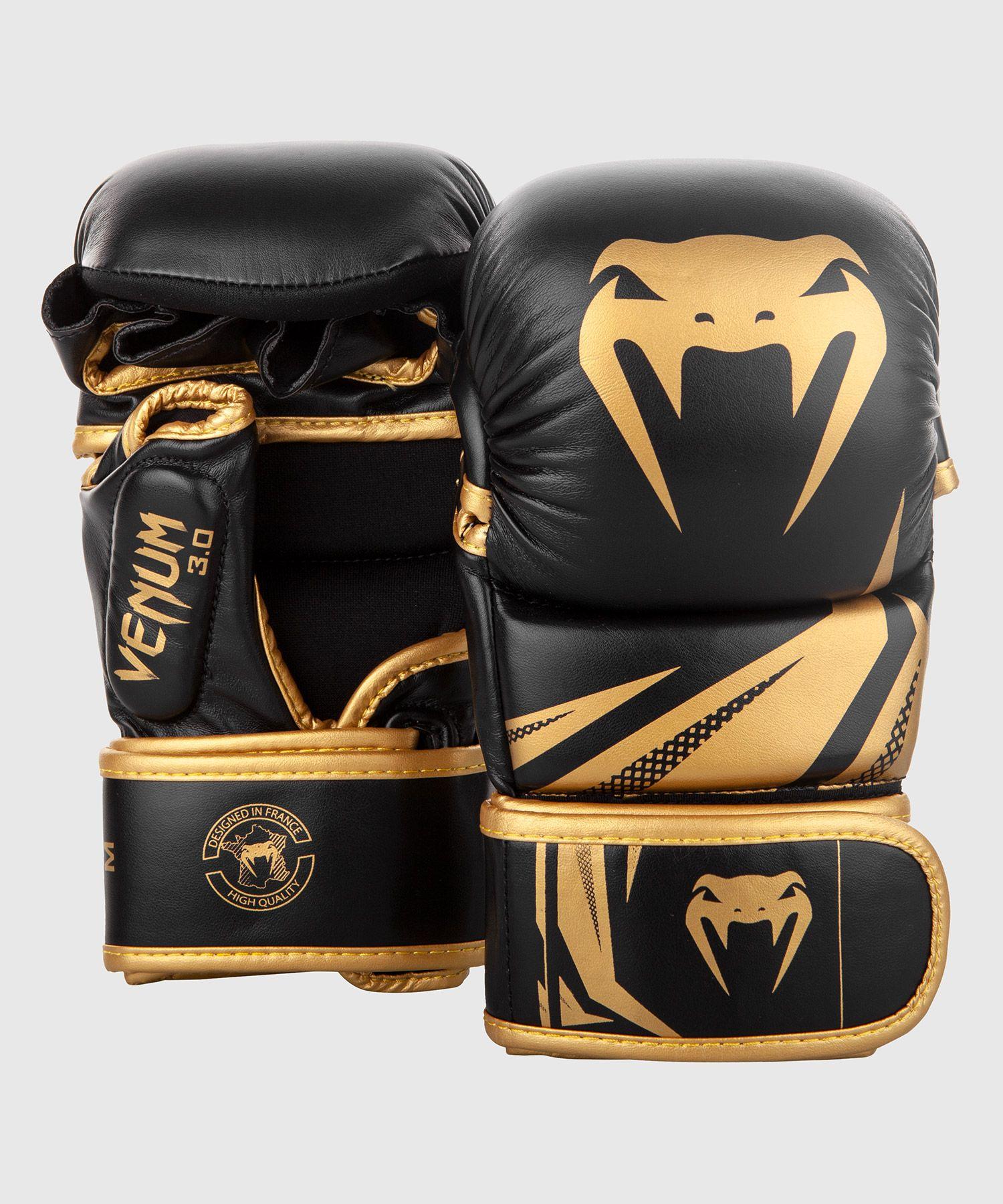 MMA HANDSCHUE SPARRING CHALLENGER 3.0 - Schwarz/Gold