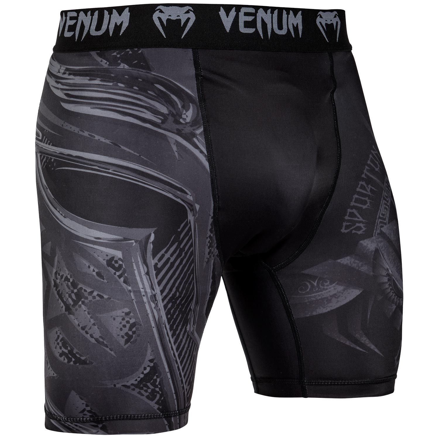 Short de compression Venum Gladiator 3.0 - Noir/Noir - Exclusivité