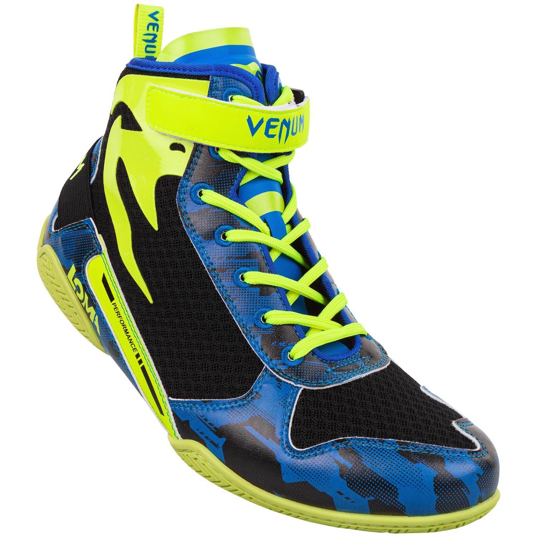 Chaussures de boxe Venum Giant Low Loma Edition - Bleu/Jaune