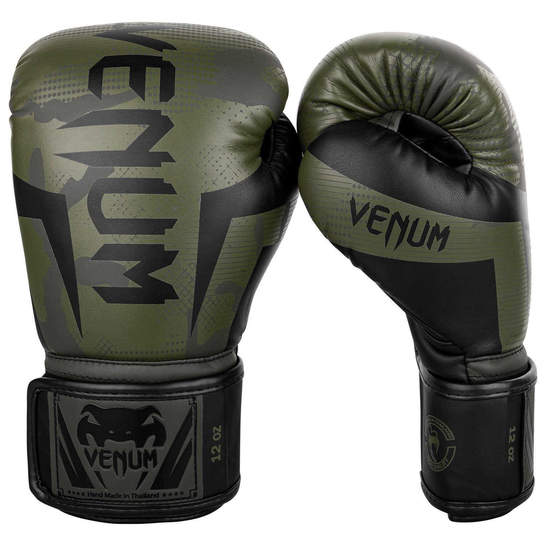 Guantoni da boxe Venum Elite - Camo cachi