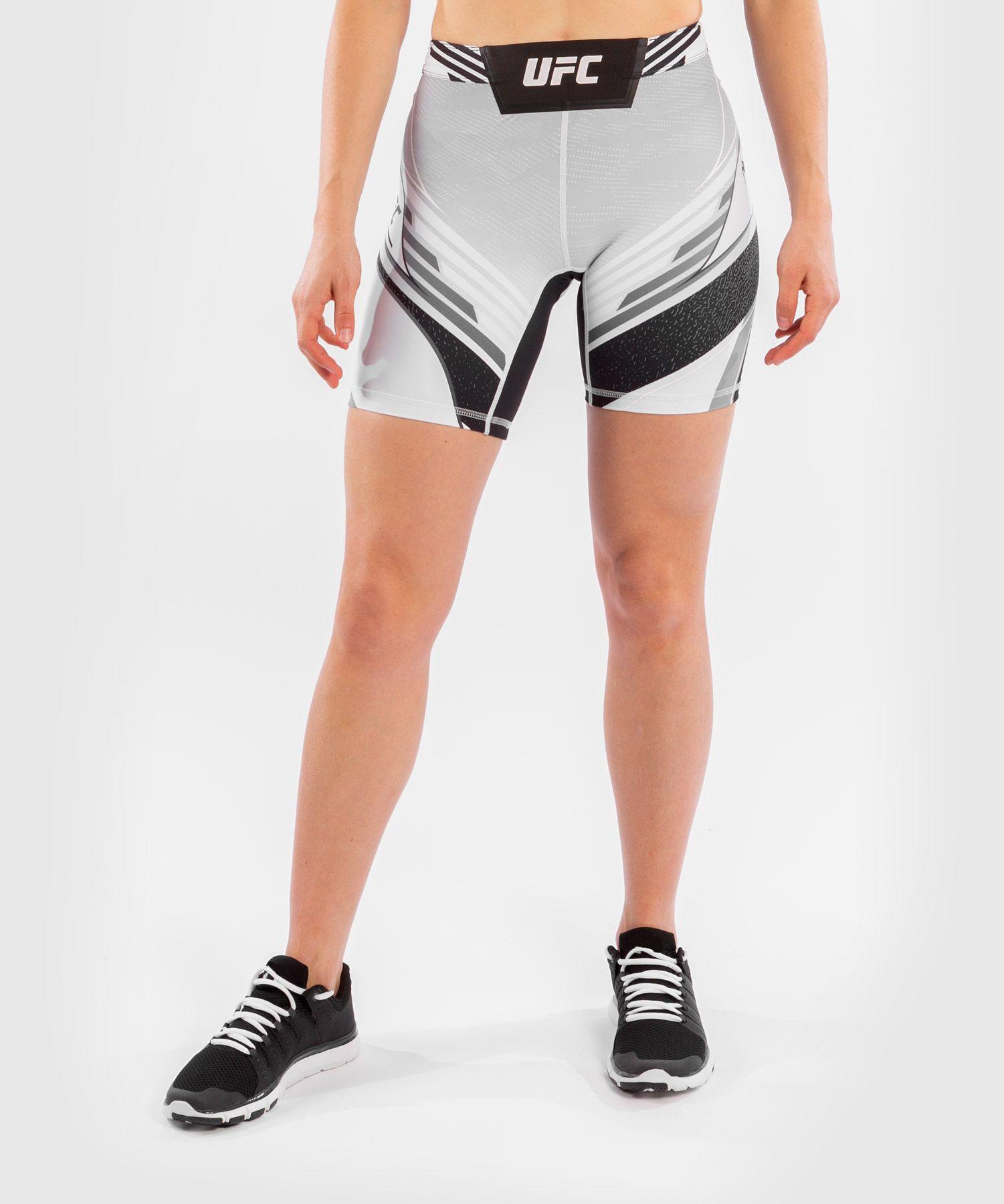 UFC Venum Authentic Fight Night Women's Vale Tudo Shorts - Long Fit - White