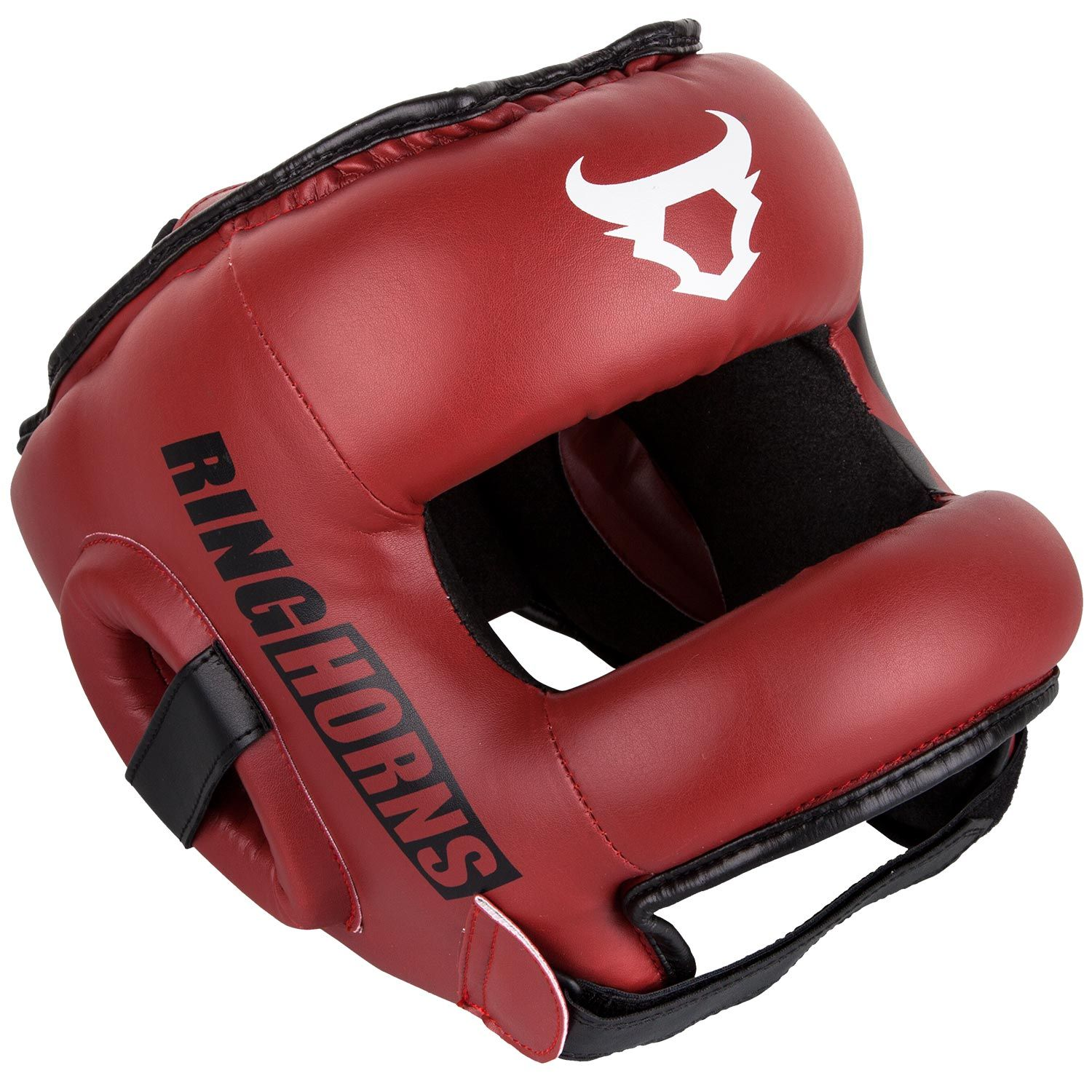 Ringhorns Nitro Headgear-Red