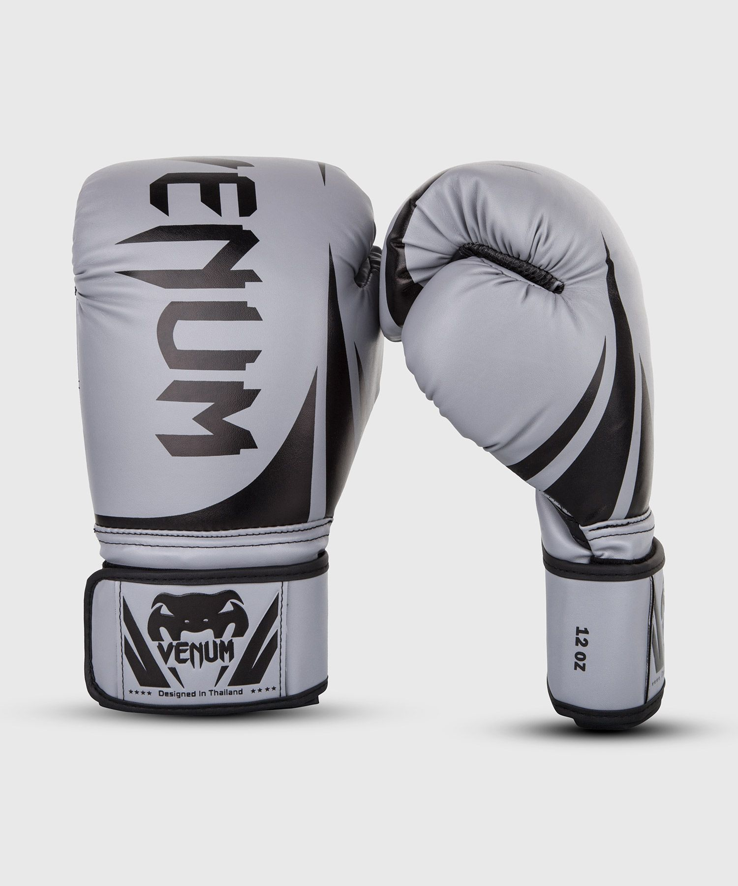 Venum Challenger 2.0 Boxing Gloves - Grey/Black