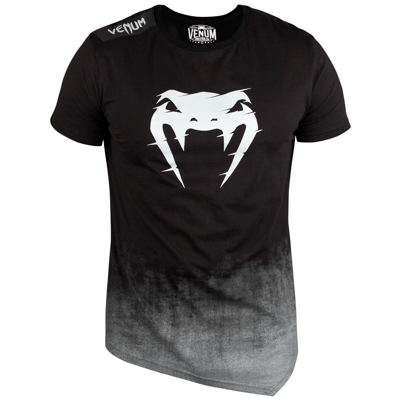 Camiseta Venum Interference 2.0 - Negro/Gris
