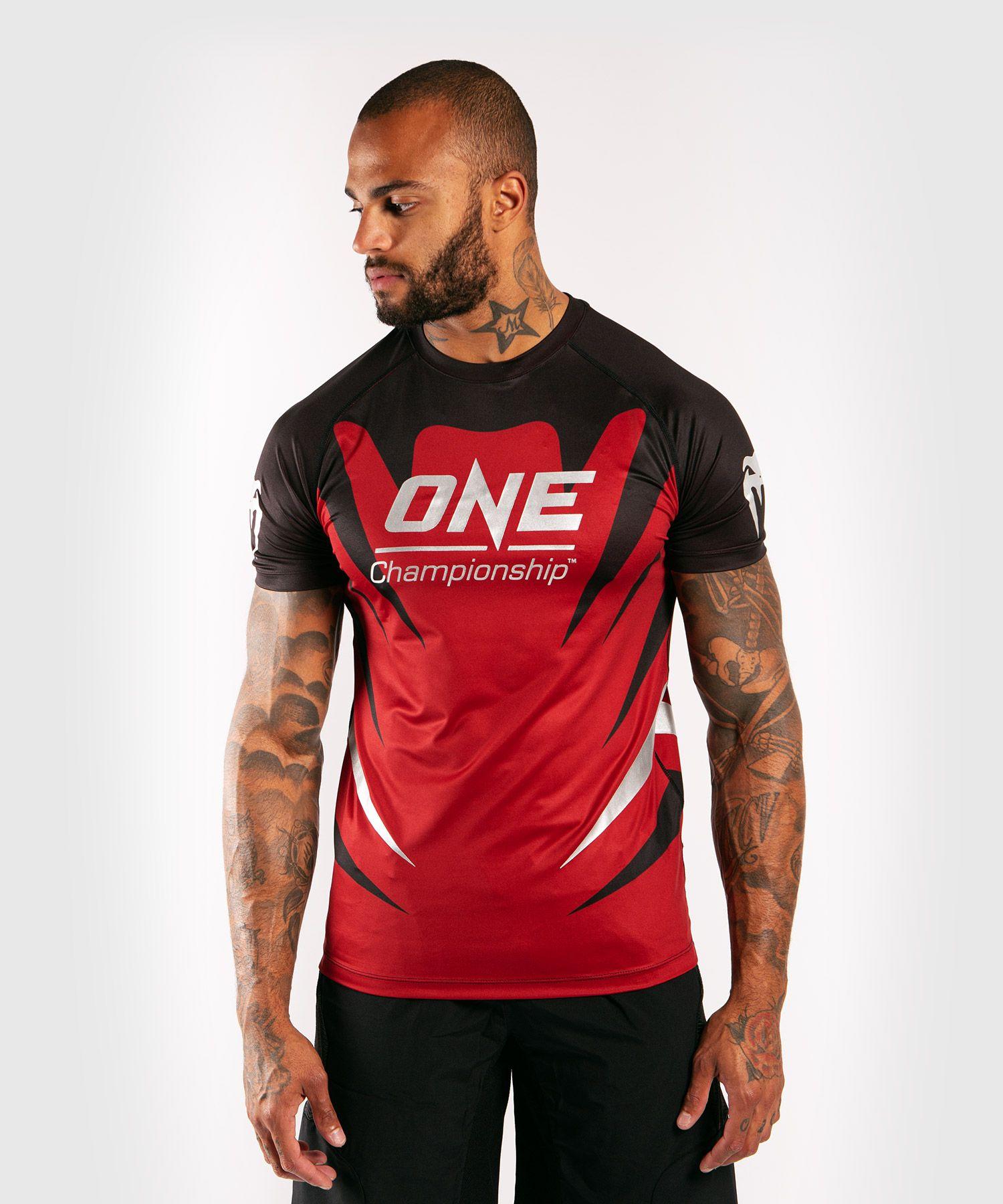 Venum x ONE FC Dry Tech T-shirt - Rood